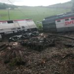 Озвучены подробности схода поезда с рельсов: власти Приморья дали комментарий