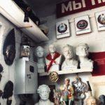 В необычном частном музее оказались российские путешественники