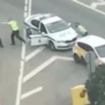 Остановили такси: мужчина расстрелял полицейских в центре Москвы