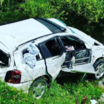 «Бедные дети, такое пережили»: жесткое ДТП на новой дороге – авто «в гармошку»