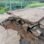 Не проехать: мост обрушился между двумя населёнными пунктами