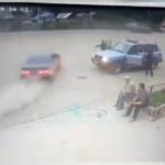 Видео: полным фиаско закончился побег от полиции  в Приморье