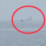 «Самолет прям на воде. Пацаны попали»: «прикол» сняли на видео близ Владивостока