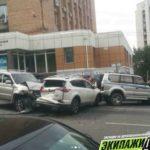 """""""Рафчика жалко"""": мощное ДТП случилось в центре Владивостока"""