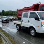 Пьяный водитель без прав устроил погром на дороге