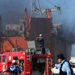 И автомобили, и люди: судно из Владивостока загорелось у берегов Японии