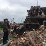 Взрыв дома в Приморье: появилось видео с места событий