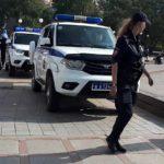 В эти минуты: задержание проходит на Набережной во Владивостоке