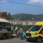 «То в проходную, то  в столб»:  автобус с пассажирами не доехал до места в Приморье