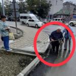 Все для людей: в неприятную ситуацию попал инвалид-колясочник из-за бордюр