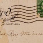 Женщина получила открытку, отправленную 100 лет назад