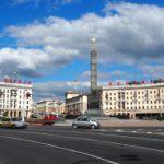 Против демонстрантов в Минске применили светошумовые гранаты и водомёты