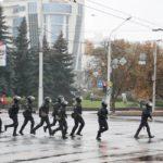 Пришлось:  марш пенсионеров и студентов разогнали газом и патронами