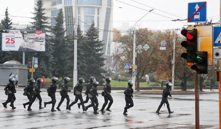 Число задержанных на«Марше Гордости» в Беларуссии приблизилось к600 человекам