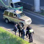 Утреннее ЧП: мужчина упал с моста во Владивостоке