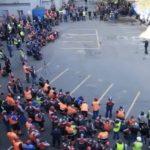 «Мы готовы бороться до конца»: докеры ВМТП проводят очередное собрание в поддержку Юсупова