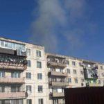 Дым напугал жителей многоквартирного дома