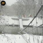 Простоял 52 года: мост рухнул после миллионного ремонта