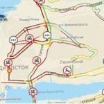«Много аварий и тупняка»: 9-балльные пробки сковали Владивосток