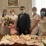 «С добром едины»: Джони Авдои посетил Приморский краевой перинатальный центр