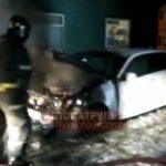 При загадочных обстоятельствах: ночью сгорело авто