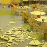 Сказка закончилась: потолок рухнул в новом детском саду - в здании были дети