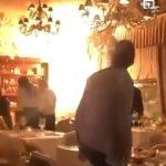 «А что так смело стоят и снимают?»: загорелся ресторан с людьми внутри