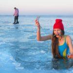 «И вправду русалка»: девушка,  которую знают многие, сумела удивить