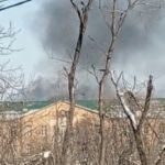 «Что-то горит там у них»: дым замечен над зданием больницы