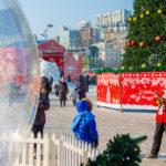 Несмотря на холод: в центре празднуют Рождество