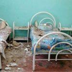 Упал огромный кусок: потолок рухнул на ребенка в больничной палате