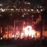 «Никогда такого не видел»: огонь бушует в районе Первой речки