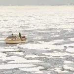 «Застряли, камикадзе»: необычную картину увидел приморец во льдах