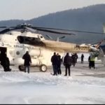 Уничтожены полностью: вертолет врезался в аэровокзал - видео