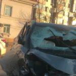 «Самоликвидация»: момент жесткой аварии на Второй речке  попал на видео