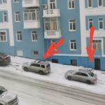 «Осторожней, доски падают на людей и машины»: опасность поджидает горожан