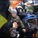 Пришлось вызвать скорую и полицию: дама на Мазератти переехала ребёнка