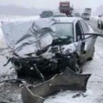 Страшное ДТП: погибли трое, двое пострадали