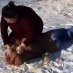 Пинает по лицу, поднимает за волосы: жестоко избита учащаяся колледжа