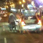 """""""У авто нет колеса"""": город рискует встать в пробку из-за ДТП"""
