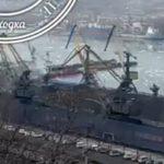 Спустили на воду: плавучий док затонул в Приморье - видео