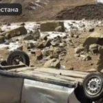 Высота 60 метров: автомобиль рухнул в обрыв