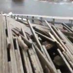 Обрушились две опоры: появились подробности ЧП с мостом
