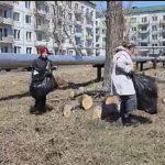 Приморцы и депутат Игорь Шевчук устроили большой субботник