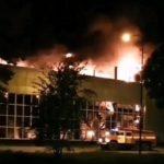 «Взрыв был, стекла повыбивало»: серьезный пожар произошёл на крупнейшем заводе Приморья