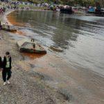 """""""Выглядит жутко"""": море встревожило отдыхающих горожан"""