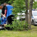 «Вытолкнули и он улетел»: погоня ДПС «впечатала» мотоциклиста в дерево