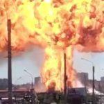 «Машины аж раскидало в разные стороны»: мощный взрыв прогремел на АЗС