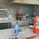 «Второй случай за июнь»: появилось видео «изнутри» после пожара в популярном кафе