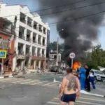 Стена обрушилась и придавила: взрыв прогремел в гостинице на российском курорте
